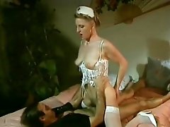 Sarah Jane Hamilton, Mike Horner, Sandra Margot in vintage fuck movie