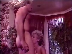 Amber Lynn, Lois Ayres, Nikki Charm in classic porn video