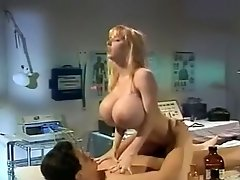 Busty blonde riding nuts